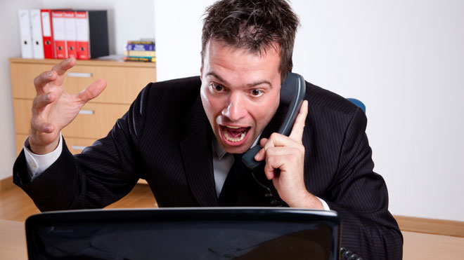 telefon od niezadowolonego klienta