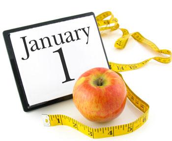 jabłko centymetr nowy rok