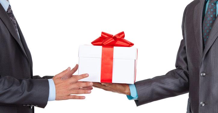 prezent dla klienta