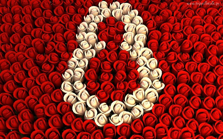 8 marca z kwiatów