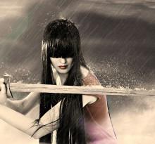 kobieta z mieczem