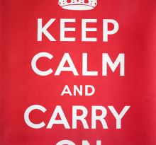 plakat keep calm