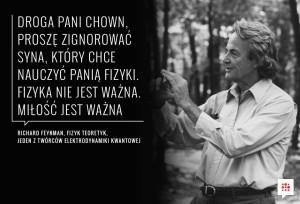 Richard P Feynman powiedzonko
