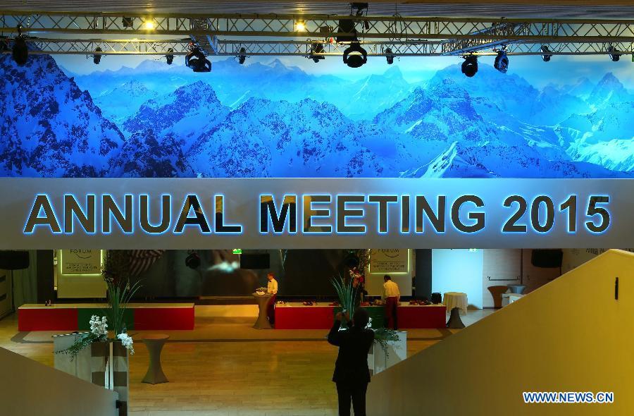 annual meeting Davos 2015