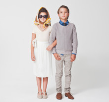 dzieci w kostiumach Jackie & JFK