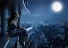 noc nad miastem