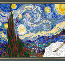 kolorowanka Van Gogh